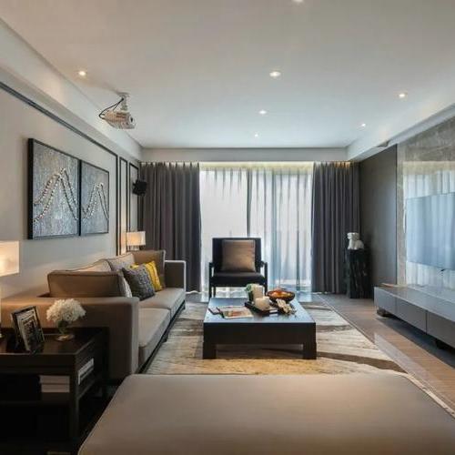 超受歡迎的背景墻設計,瞬間提升客廳顏值