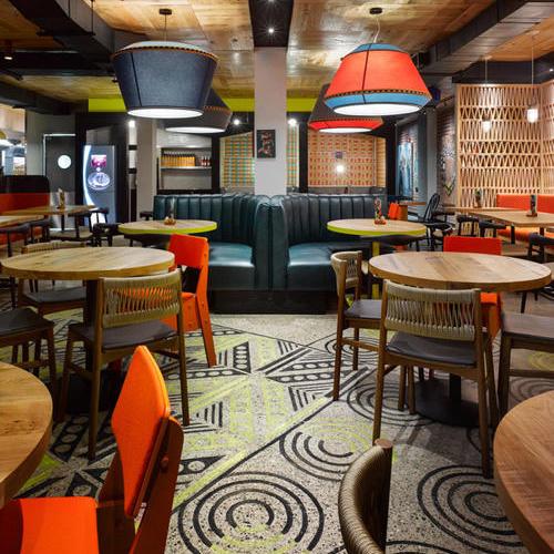 酒店饭店美容院美甲店餐厅奶茶店内衣店商场装修空间设计