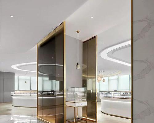 商业展示厅装修设计说明:上海顺外