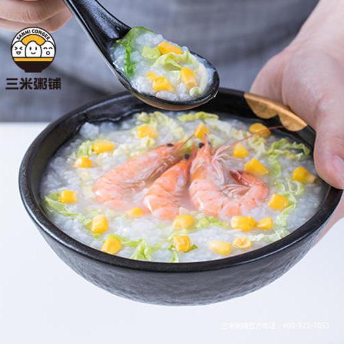 玉米鲜虾粥