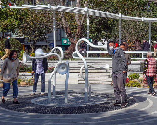 静安区的口袋公园,音乐公园