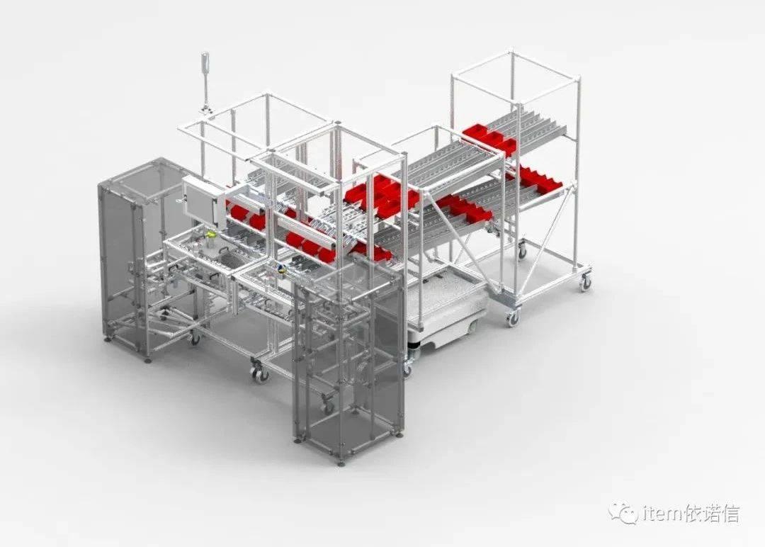 人体工学内部物流系统