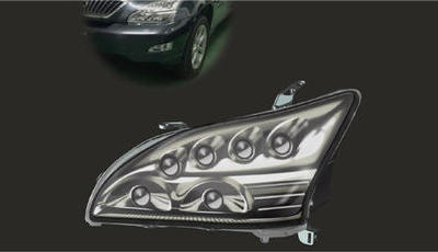 汽车LED车灯