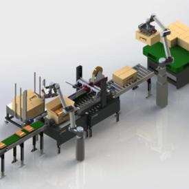 自动化生产线制造商 全自动包装流水线