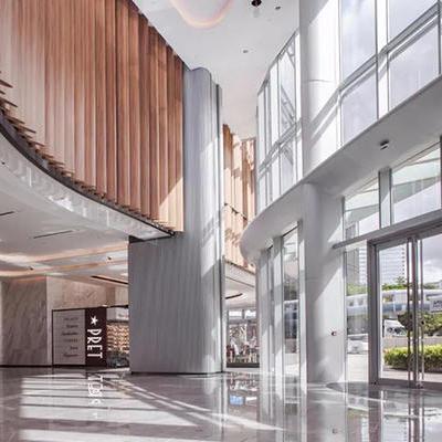 办公楼区域设计装修方案-海滨汇装潢设计