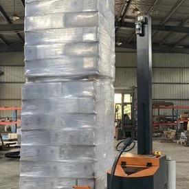 自走式机器人缠绕机 自走式裹包机 机器人裹膜机