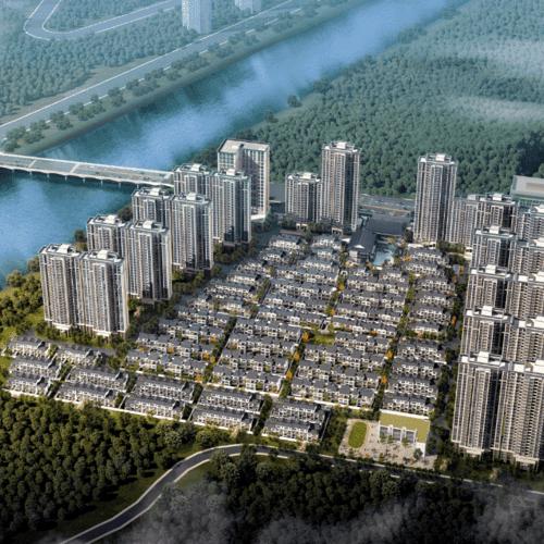 春江麗景丨休寧市區品質樓盤 130平江景高層