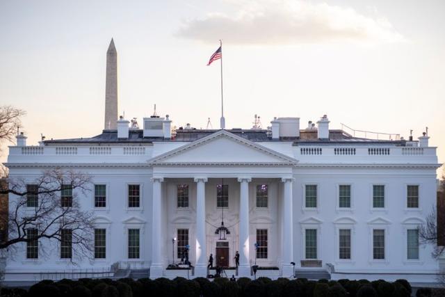 这是1月20日在美国首都华盛顿拍摄的**。(新华社发,沈霆摄)