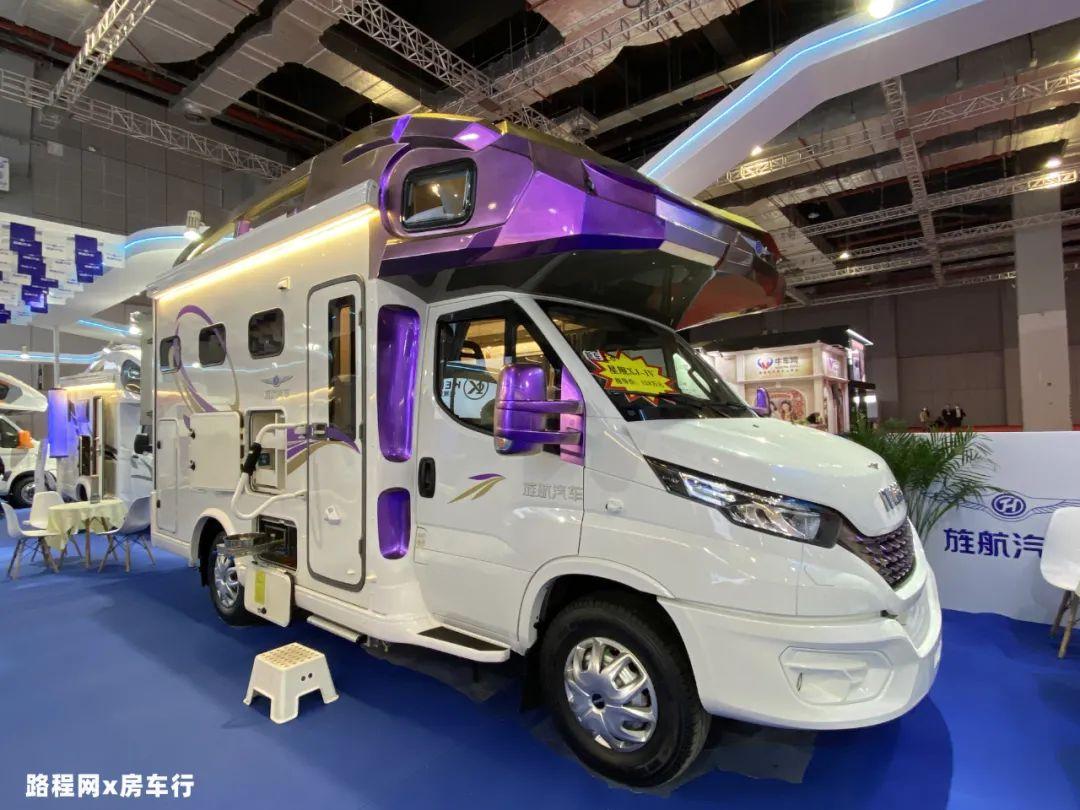 5.27上海房车展:全新外观+豪华内饰还有超大锂电,旌航新款星舰双拓展XJ-4房车
