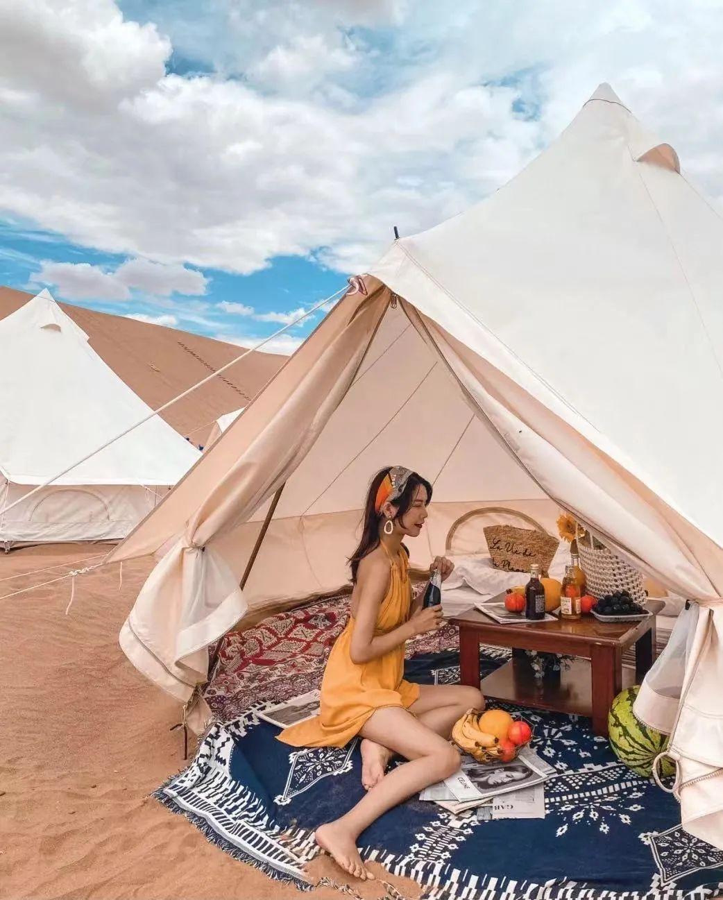 【野趣·房车露营季】 | 大漠孤烟、纯净星空、特色酒店、综艺打卡,你想要的网红元素这里都有