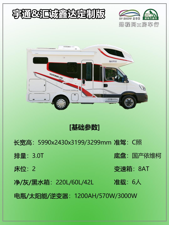 """9.24上海房车展:详测-宇通&汇诚鑫达""""联名款""""房车,一起来看看吧!"""