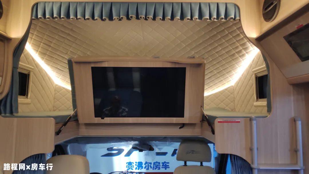 9.24上海房车展:子母床+长续航,赛沸尔无拓C型房车,清爽夏日旅行,有它就行!