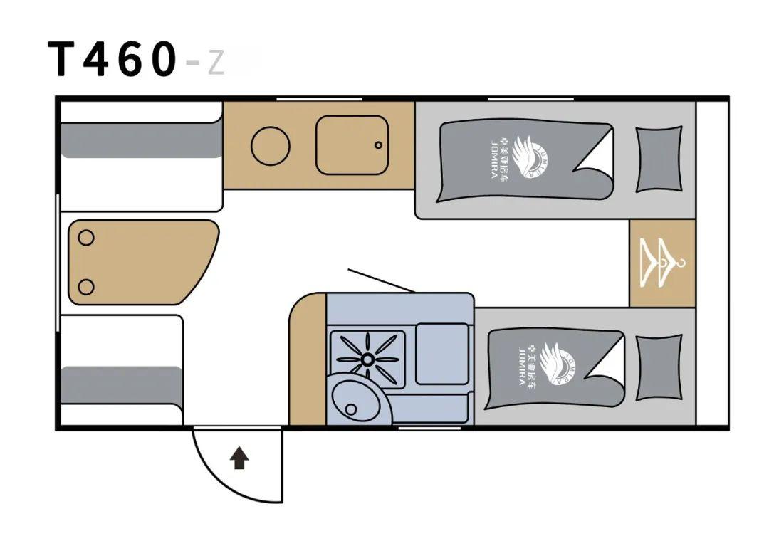 9.24上海房车展:适合新手入门的房车,9.18万一室一厅大空间,T460-Z最新评测