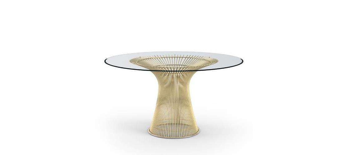 Platner Dining Table in Gold.jpg