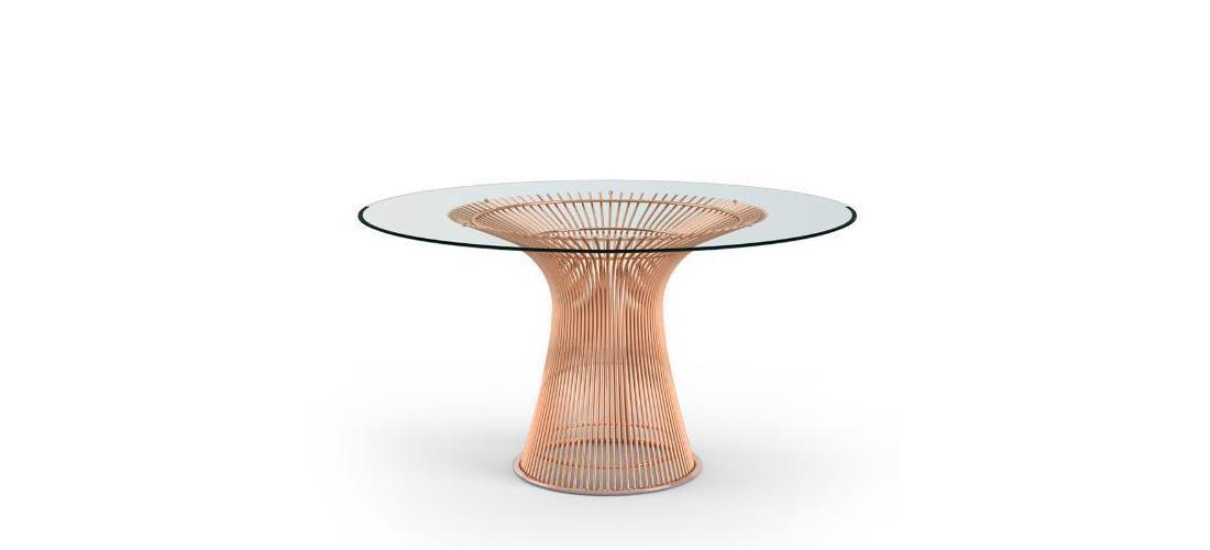 Platner Dining Table in Rose Gold.jpg