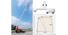 TB120TB126J伸缩直臂式高空作业平台