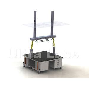 钢制活动式实验室家具