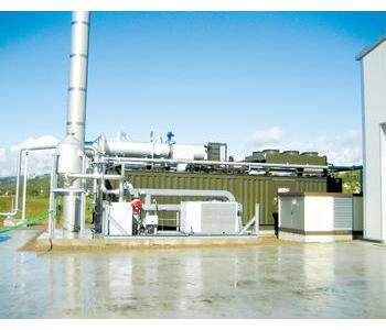 沼气发电处理