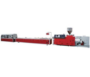 PVC/WPC PROFILE PRODUCTION LINE PE PP WOOD-PLASTIC PROFILE LINE