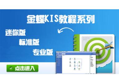 金蝶软件KIS视频教程