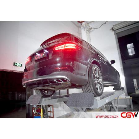 奔馳GLC43 改裝CGW中尾閥門排氣