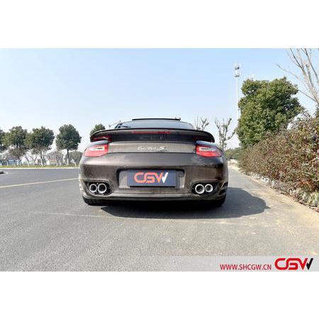保时捷911 Turbo S 3.8T 改装CGW全段阀门排气