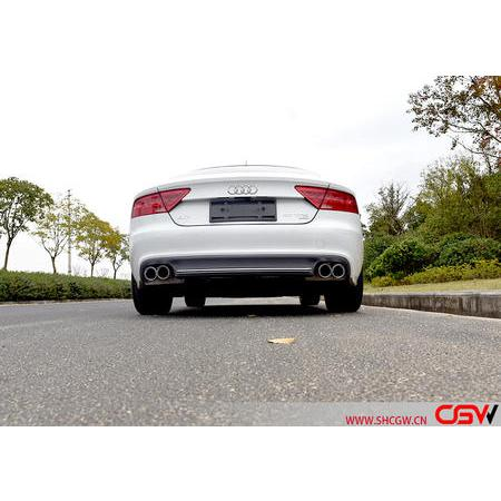 奧迪A7 V6 改裝CGW中尾閥門排氣