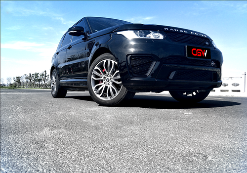 Passionate! Range Rover Sport Edition changed CGW valve exhaust