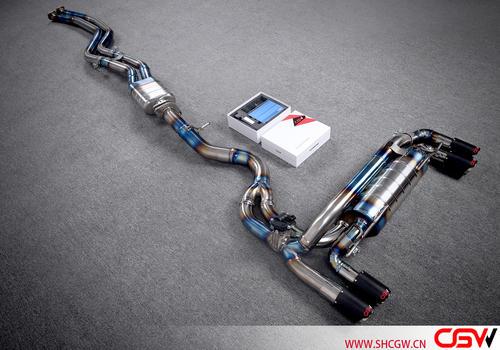 1M titanium alloy mid tail valve