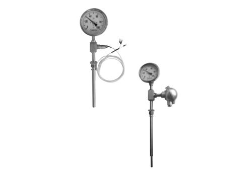 WSS 系列带热电偶(阻)、温度变送器的双金属温度计