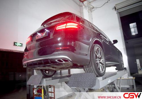 奔驰GLC43 改装CGW中尾阀门排气