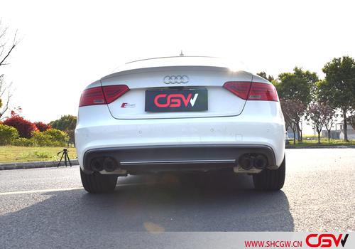 奥迪S5 B8 改装CGW中尾阀门排气