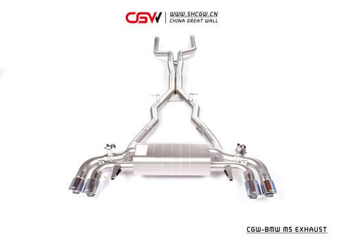 宝马M5 CGW阀门排气