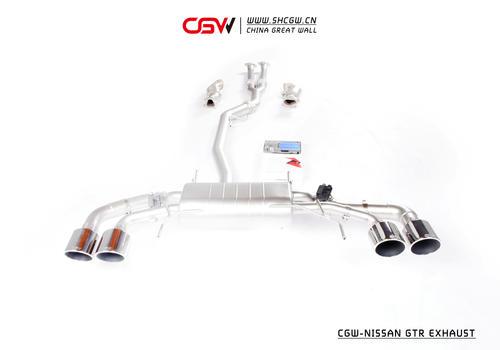 日产GTR全段CGW阀门排气