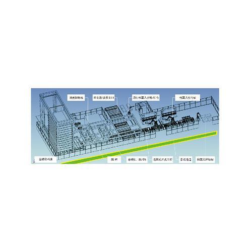 机箱机构智能生产线