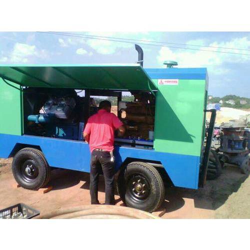 矿用柴油移动空压机