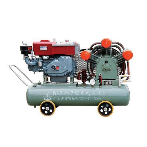 矿用柴油活塞机|开山钻机