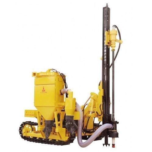 配套集尘器的潜孔钻机