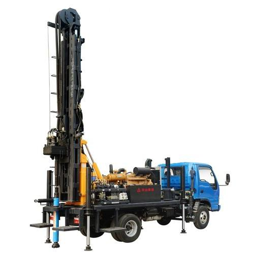 KW20型(车载式)地热水井多功能钻车