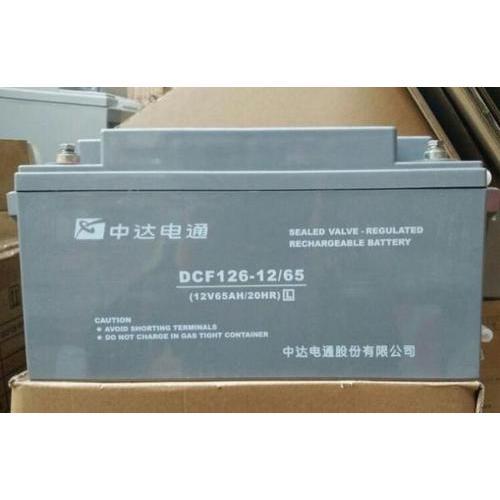 中达电通蓄电池参数规格型号尺寸图片