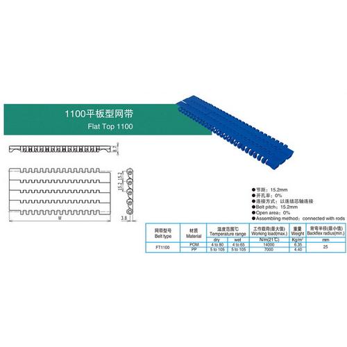 1100平板型网带