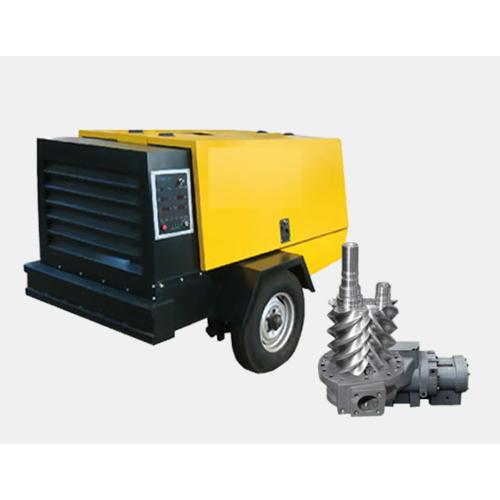 柴油移動式螺桿空壓機