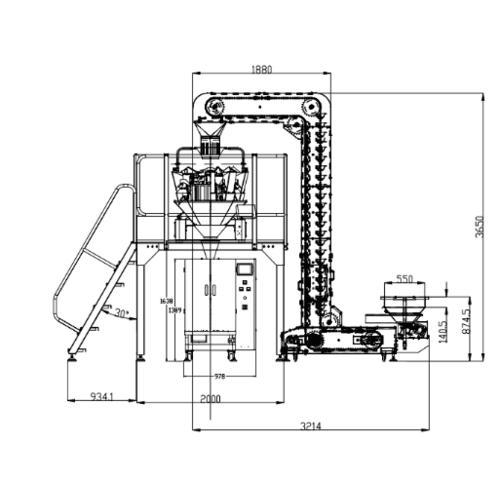 XY-620 颗粒包装机