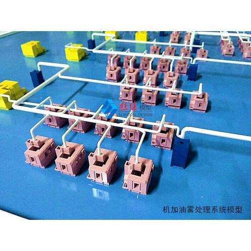 油污处理系统沙盘