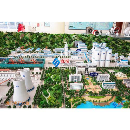 海门电厂展示馆模型