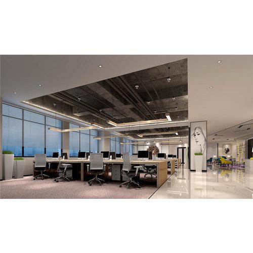 上海办公室装修设计之如何营造立体感