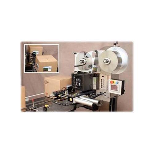 即印即贴贴标机MT-770 半自动洗手液双面贴标机 在线打印贴标机