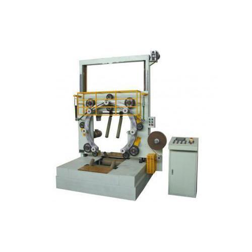 立式金属带缠绕机MT-GD600 熔喷布缠绕机 生料带自动缠绕机