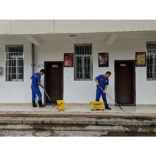 漳州市军队离休退休干部休养所地面防滑处理完工