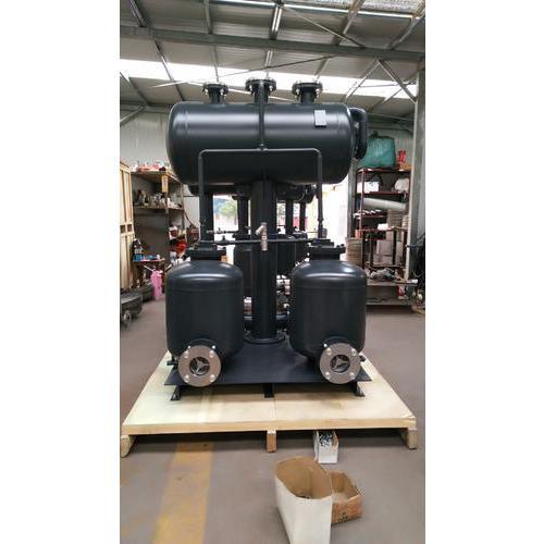 氣動雙泵冷凝水回收裝置